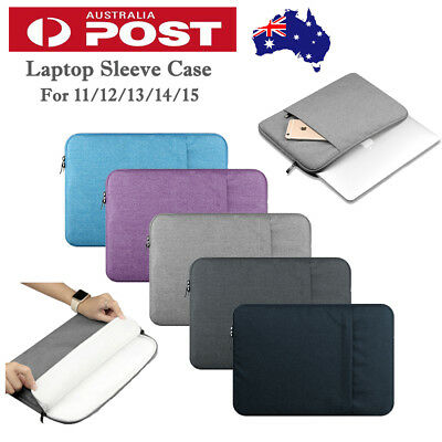 AU21.59 • Buy Laptop Sleeve Case Bag MacBook Lenovo RCA SAMSUNG Case 11 12 13 14 15 Case Bag