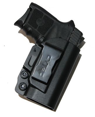 $19.95 • Buy Polymer IWB Conceal Gun Holster For Smith & Wesson M&P Bodyguard 380 With Laser