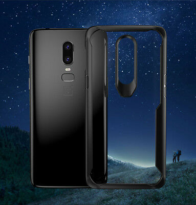 AU6.99 • Buy Heavy Duty Extreme Tough Shockproof Bumper Clear Case Cover For OnePlus 5T 6