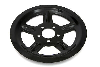 Black Rear Pulley Cover 68 Tooth,for Harley Davidson,by V-Twin • 52.99$