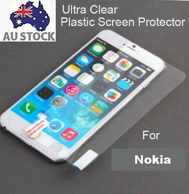 AU3.50 • Buy 3x Clear  Plastic TPU Screen Protector Nokia 6 7 8 Plus 2018