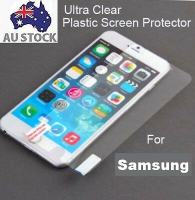 AU3.50 • Buy 3x Clear Plastic TPU Screen Protector Samsung Galaxy A5 2017 A8 2018 Plus J7 Pro