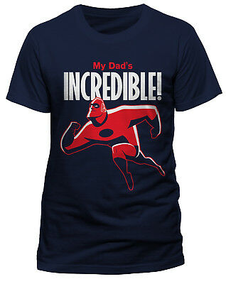 The Incredibles 2 'My Dads Incredible' T-Shirt - NEW & OFFICIAL! • 6.99£