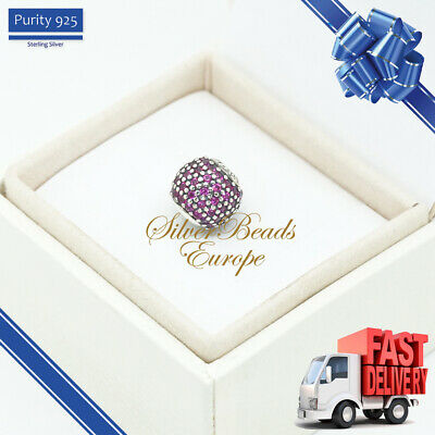 Pandora Essence Passion Charm, Fancy Red Cubic Zirconia -  796063CFR • 33£