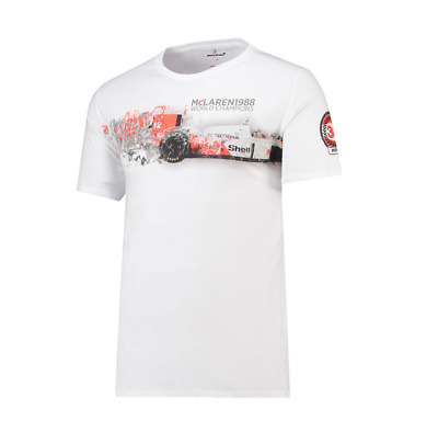 McLaren F1 Men's Official 'Heritage' Logo T-Shirt - 2018 - Clearance Price • 21.50£