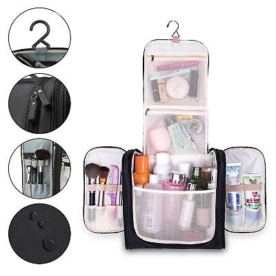 AU60.79 • Buy New Toiletry Kit Bag Travel Accessories Organizer Make Up Shaving Dopp Men Women