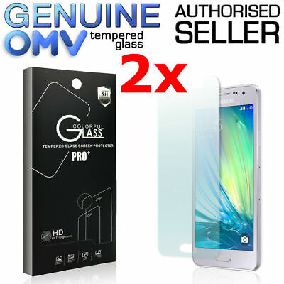 AU5.45 • Buy 2x Tempered Glass Screen Protector For Samsung Galaxy J1 J2 J3 J5 J7 Pro A5 2017