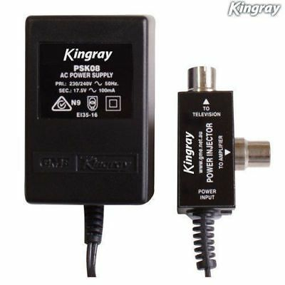 AU29.95 • Buy Power Supply Kingray Psk08 For Kingray Boosters / Amps 17.5v Ac 100ma