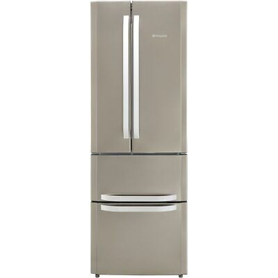 View Details Hotpoint FFU4D.1X Day1 A+ 70cm Free Standing Fridge Freezer 60/40 Frost Free • 590.00£