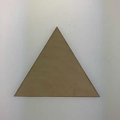 Birch Plywood Triangle Ply Sheet Squares Wooden Wood Board  Sheets Frame Craft  • 15.59£