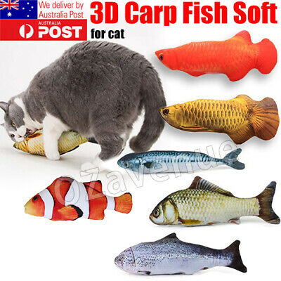 AU8.70 • Buy 1pc Pet Cat Pillow Scratch Crazy Chew Catnip Toy Teeth Grinding Play Toys Gift