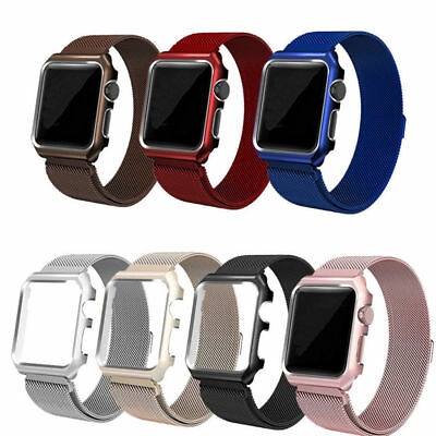AU12.91 • Buy For Apple Watch Series 6 5 4 3 Milanese Steel Loop Band IWatch Strap 38mm 42mm