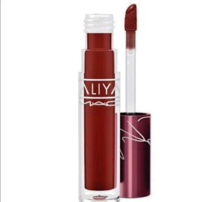 $28.50 • Buy MAC Cosmetics X AALIYAH  At Your Best You Are  Lipglass Limited Edition SOLD OUT