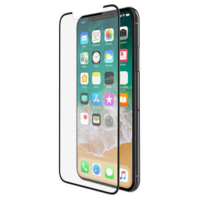 AU65 • Buy Belkin Force Tempered Glass Curve Screen Protector Guard For Apple IPhone X BLK