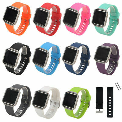 AU3.75 • Buy Replacement Silicone Gel Band Strap Sport Bracelet Wristband - For FITBIT BLAZE