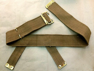 WWI BRITISH P08 WEB BELT (3  Inches Wide) - REPRODUCTION • 31.50£