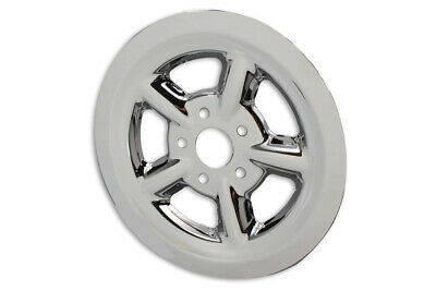 Rear Pulley Cover 68 Tooth Chrome,for Harley Davidson,by V-Twin • 48.96$
