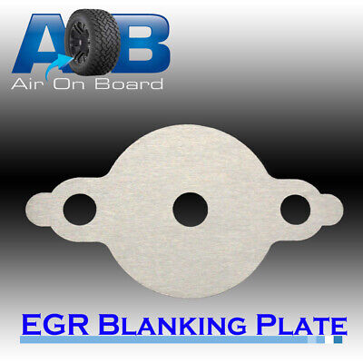 AU14.50 • Buy EGR Blanking Plate 204H Nissan Navara D40YD25 Turbo Diesel Common Rail With Hole