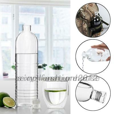 AU12.22 • Buy Sports Glass Bottle Juice Cold Hot Water Drink Bottle Camping Cycling Hiking AU