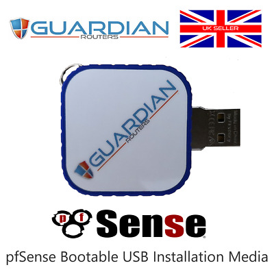 PfSense VPN Firewall Bootable USB 64Bit Installation Media • 18.99£