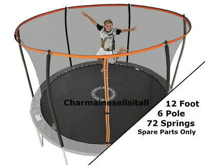 £18.99 • Buy NEW PARTS For Sportspower 12 Ft Trampoline - Orange And Black 6-pole Model