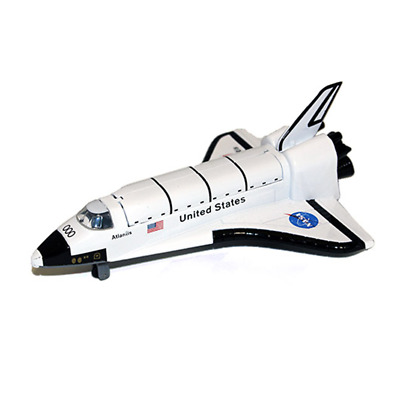 20cm Space Shuttle Rocket Nasa Diecast Model Toy Children Die Cast Fun Friction  • 9.95£