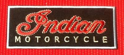 Classic Indian Vintage American Motorcycle Bike Biker  Badge Iron Sew On Patch • 2.99£