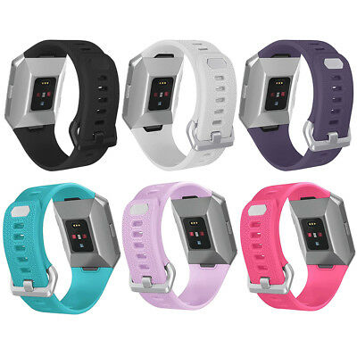 $ CDN2.45 • Buy Wrist Watch Band For Fitbit Ionic Soft Silicon Sport Bracelet Strap Best Gift