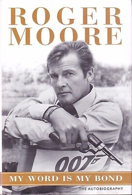 AU162.28 • Buy Roger Moore Signed Book