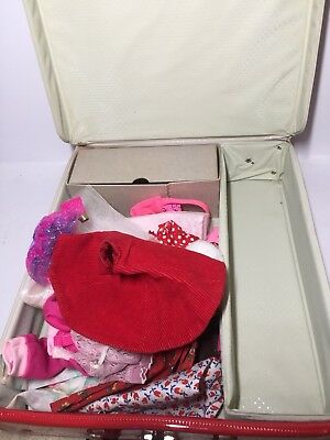$ CDN33.93 • Buy VINTAGE 1963 MATTEL MIDGE BARBIE'S BEST FRIEND VINYL CASE W LOT Vintage Clothes
