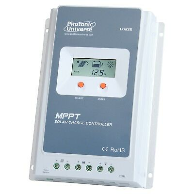 40A MPPT Solar Charge Controller With LCD Screen For 12V/ 24V Systems Up To 100V • 129.99£