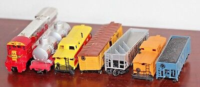 $ CDN56.49 • Buy  MIXED LOT OF 7 VINTAGE HO SCALE FREIGHT Trains , Household Names