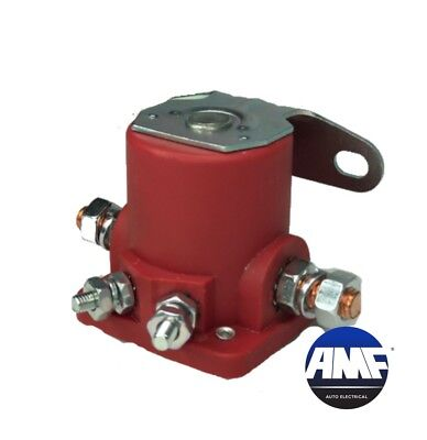 $8.30 • Buy New Starter Car Truck Solenoid Relay For Ford 12V Heavyduty Sw3 - Red