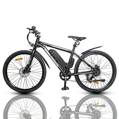 $549 • Buy 26  36V 350W Black Electric City Bicycle E-Bike Shimano 7 Speed Pedal Assist