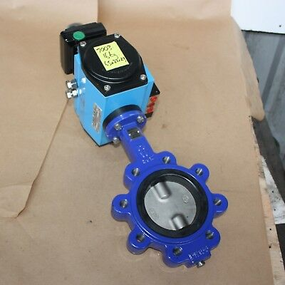 AU699 • Buy Maxiflo DN100 4  Inch Lugged Butterfly Valve Rotex Pneumatic Actuator ECF90E-26