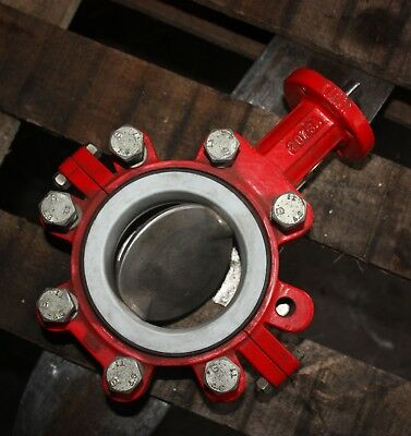 AU280 • Buy BRAY CONTROLS Lugged Butterfly Valve 4  Inch DN100 100mm With PTFE Liner