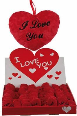 Red Heart Cushion Pillow I Love You Valentine's Decor Hanging Gift Plush Wedding • 4.73£