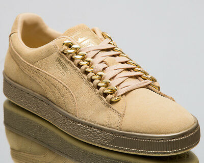 AU80.84 • Buy Puma Suede Classic X Chain Men New Reed Yellow Gold Lifestyle Sneakers 367391-02