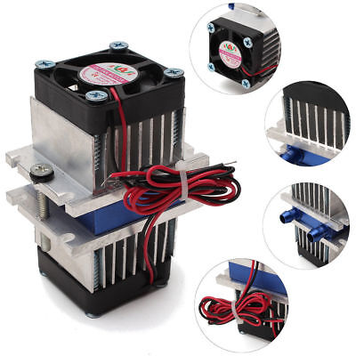 £33.99 • Buy DIY Kits Thermoelectric Peltier Refrigeration Cooling System +Fan S230