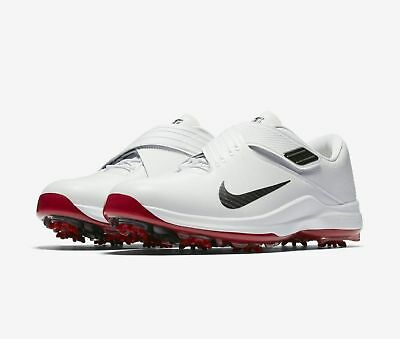 ae6036ecec3 New Nike  200 Men s TW 17 Tiger Woods White Golf Shoes 880955 100 CLOSE OUT  SALE