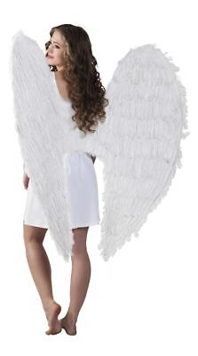 £28.99 • Buy Large 120cm Angel Wings Feather Fairy Christmas Fancy Dress Costume Accessory