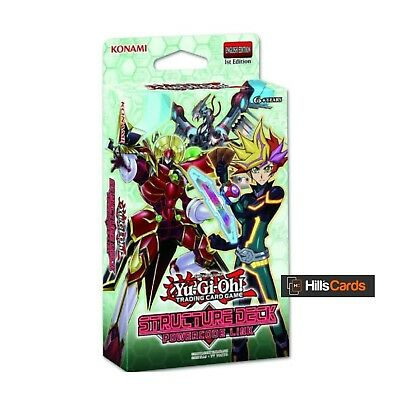 YuGiOh Powercode Link Structure Deck New & Sealed 1st Edition SDPL Code Talker • 8.45£