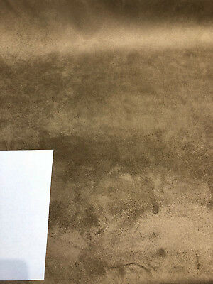 £138.78 • Buy 25 Yard Roll Super Suede Fabric Coffee Drapery Upholstery Fabric By The Yard