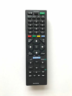 £6.79 • Buy New Replacement Remote Control For TV Sony KDL-40R483B