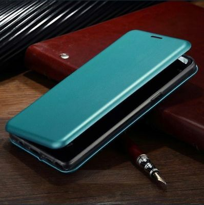 $ CDN8.77 • Buy For Samsung Galaxy S9 S8 Slim Flip Magnetic Leather Case Card Wallet Cover Stand