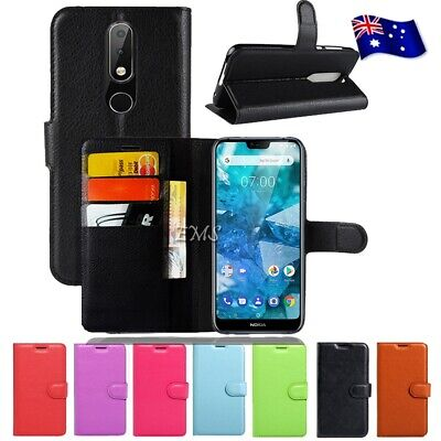 AU7.45 • Buy For Nokia 1 Plus 3.1 5.1 Plus 7.1 8.1 Wallet Leather Flip Case Shockproof Cover