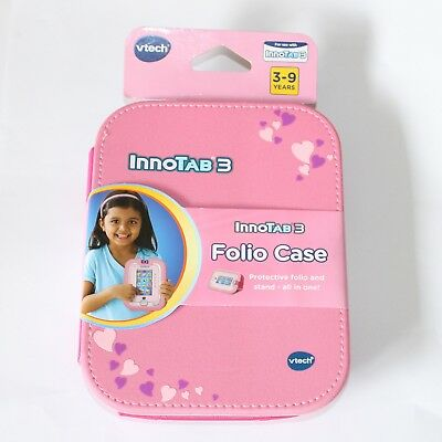 VTech Pink Folio Case Travel Protector & Stand For Innotab 3 Learning App Tablet • 6.99£
