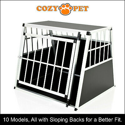 View Details Aluminium Car Dog Cage Cozy Pet Travel Puppy Crate Pet Carrier Transport ACDC04 • 79.99£