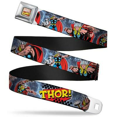 $23.95 • Buy Seat Belt Buckle For Pants Men Women Kids Marvel Comics Thor WTH019
