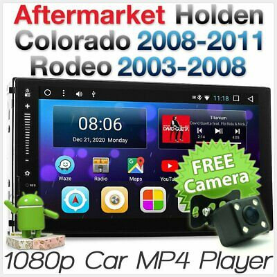 AU330.43 • Buy 7  Android Car Player Holden Colorado RC Rodeo RA Stereo Radio MP3 Head Unit ISO